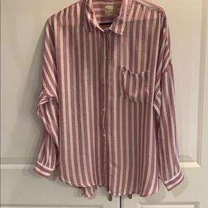 AE  striped  blouse SZ XL latest style